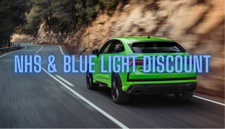 Audi NHS & Blue Light Lease Discount