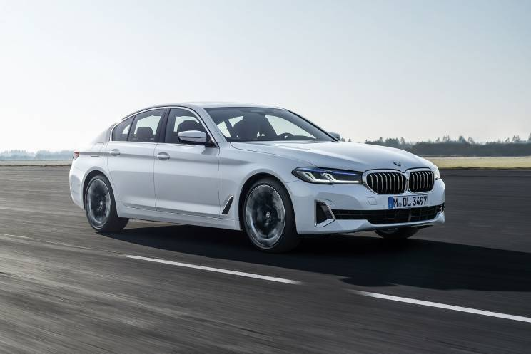 Bmw 5 Series Diesel Saloon 520d Mht M Sport 4dr Step Auto On Lease From 416 54 Inc Vat