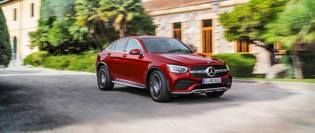 Image 2: Mercedes-Benz GLC Diesel Coupe GLC 220D 4matic AMG Line 5dr 9G-Tronic