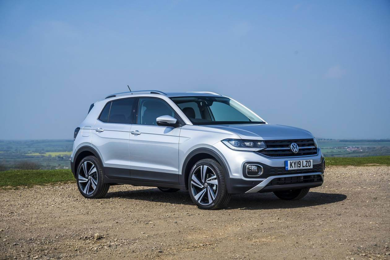 Image 1: Volkswagen T-Cross Estate 1.0 TSI S 5dr