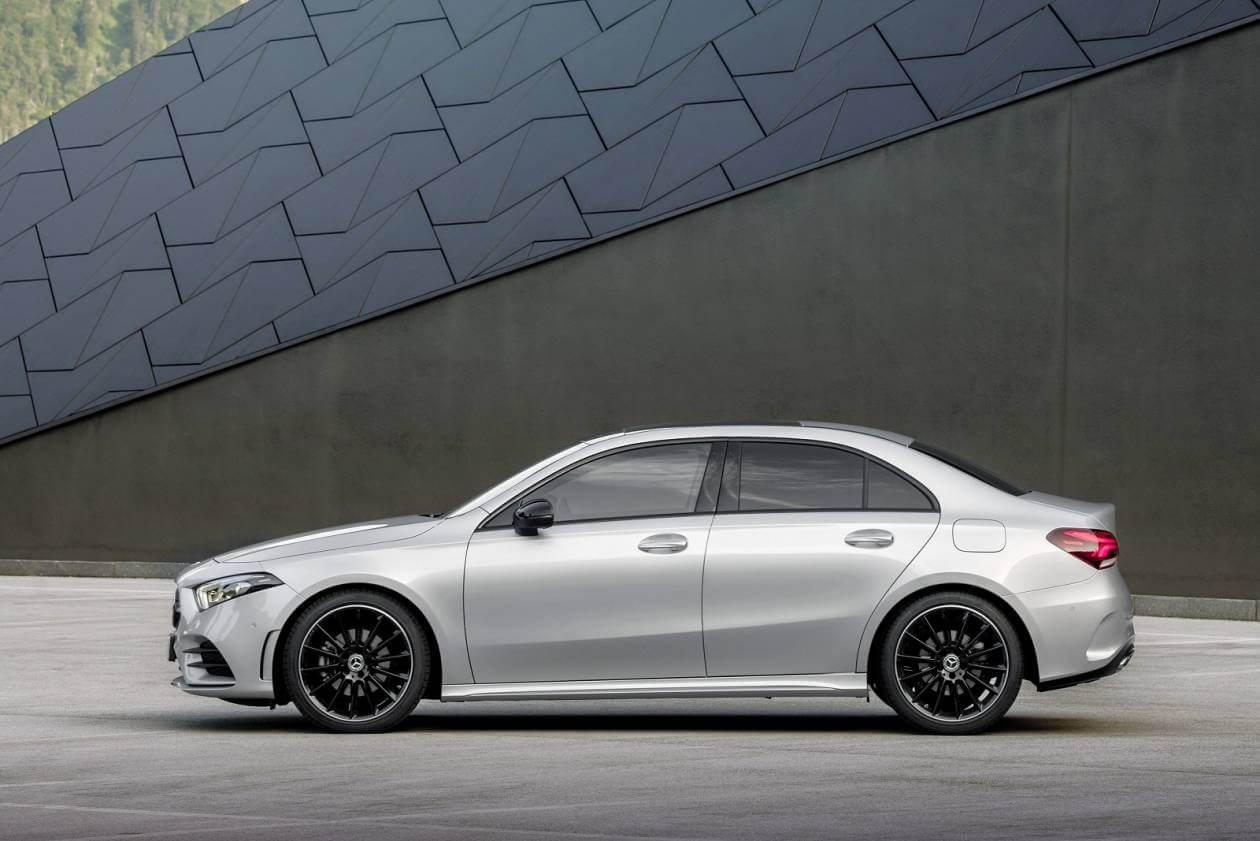 Image 1: Mercedes-Benz A Class Saloon A250e AMG Line 4dr Auto
