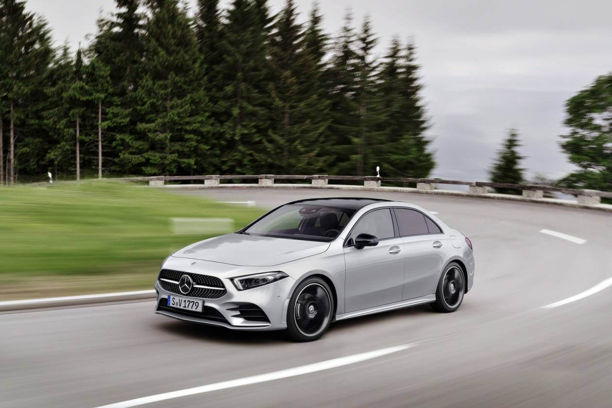 Image 2: Mercedes-Benz A Class Saloon A250e AMG Line 4dr Auto