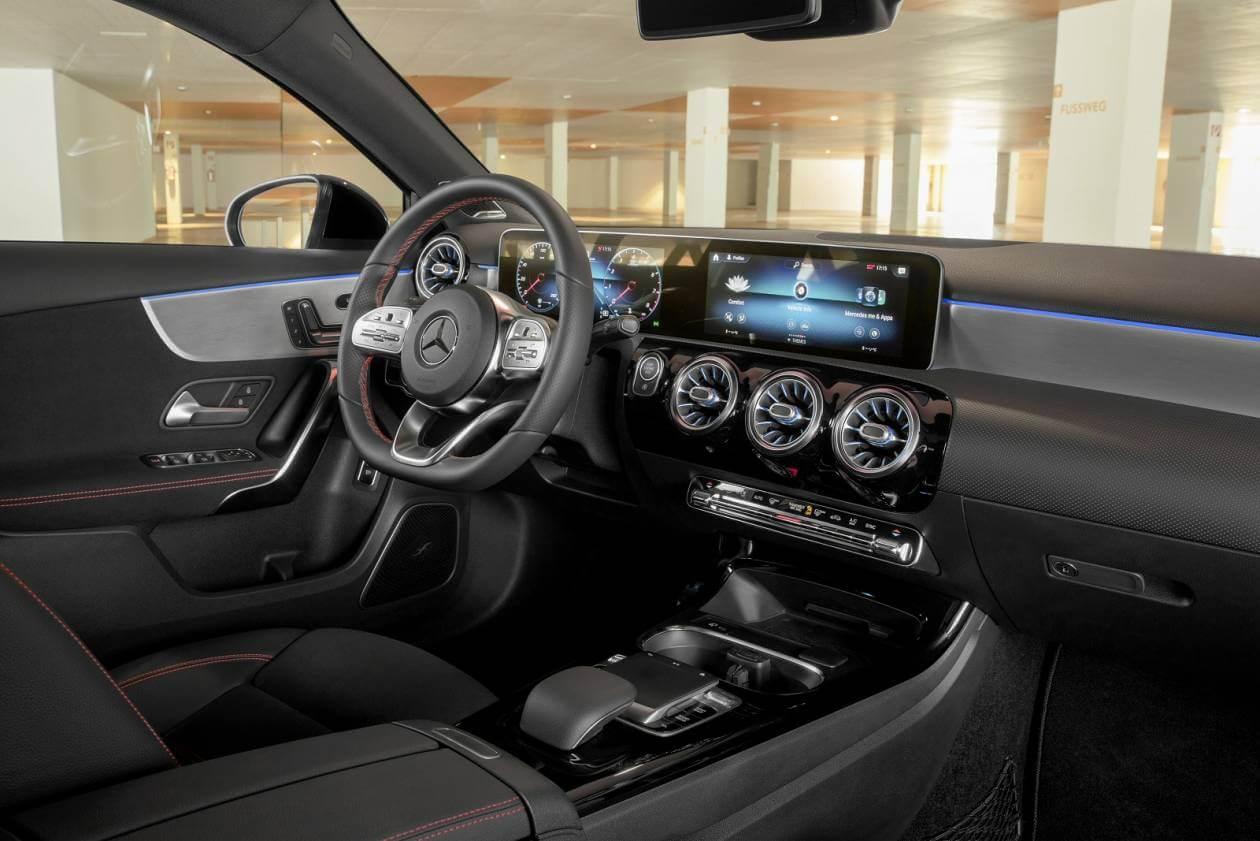 Image 5: Mercedes-Benz A Class Saloon A250e AMG Line 4dr Auto
