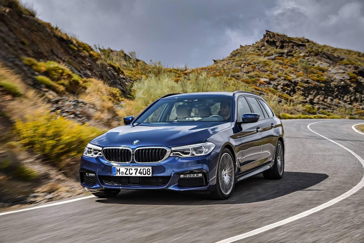 Image 1: BMW 5 Series Diesel Touring 520D MHT M Sport 5dr Auto