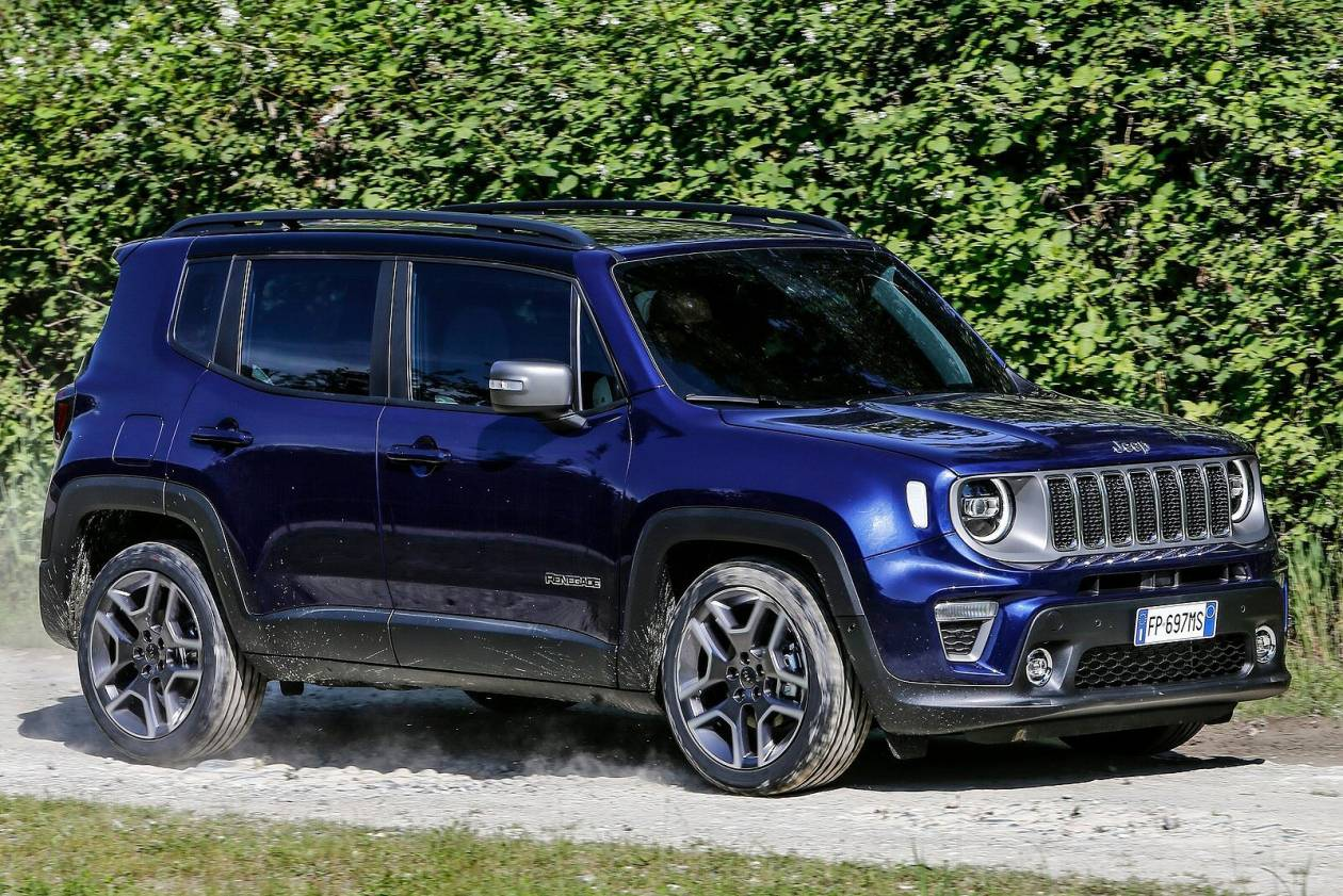 Jeep Renegade Hatchback 1 0 T3 Gse Longitude 5dr On Lease From