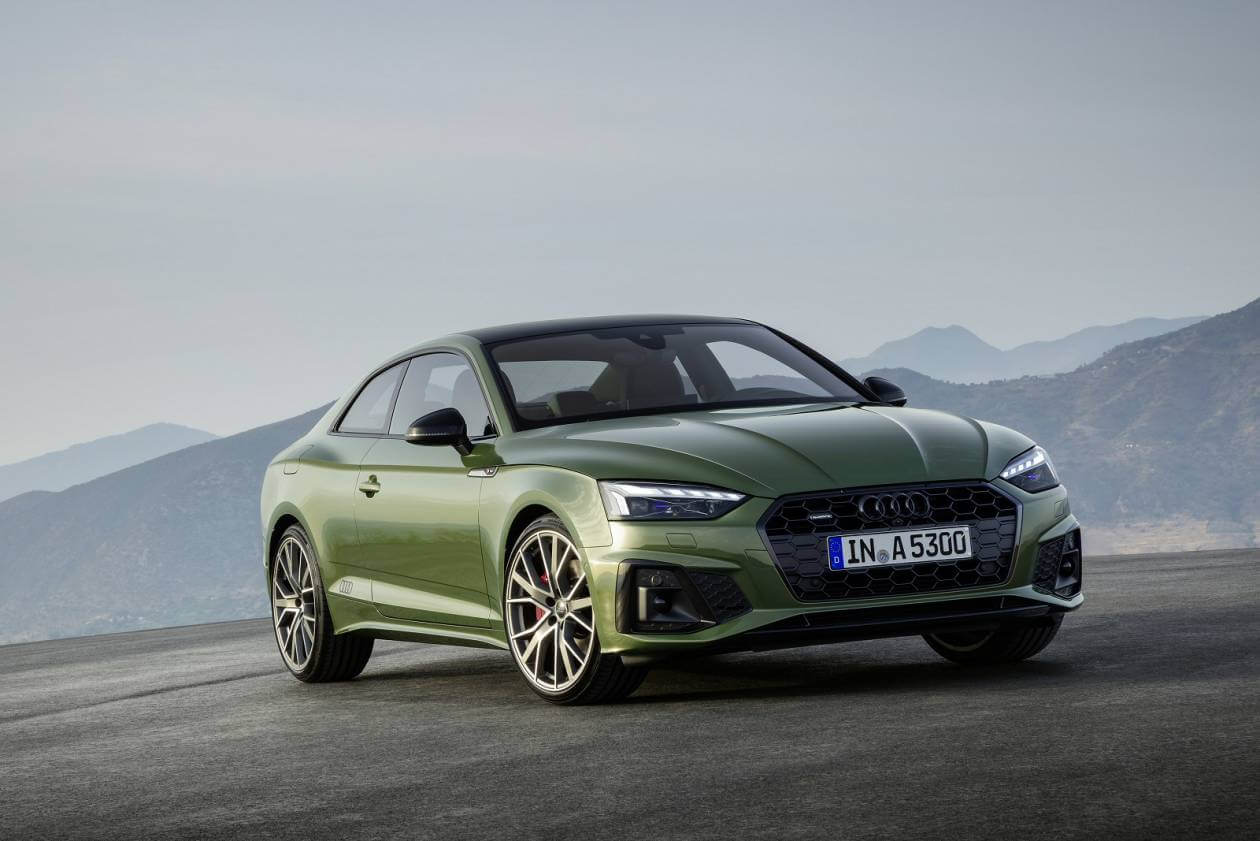 Image 1: Audi A5 Coupe 40 Tfsi S Line 2dr S Tronic [tech Pack]