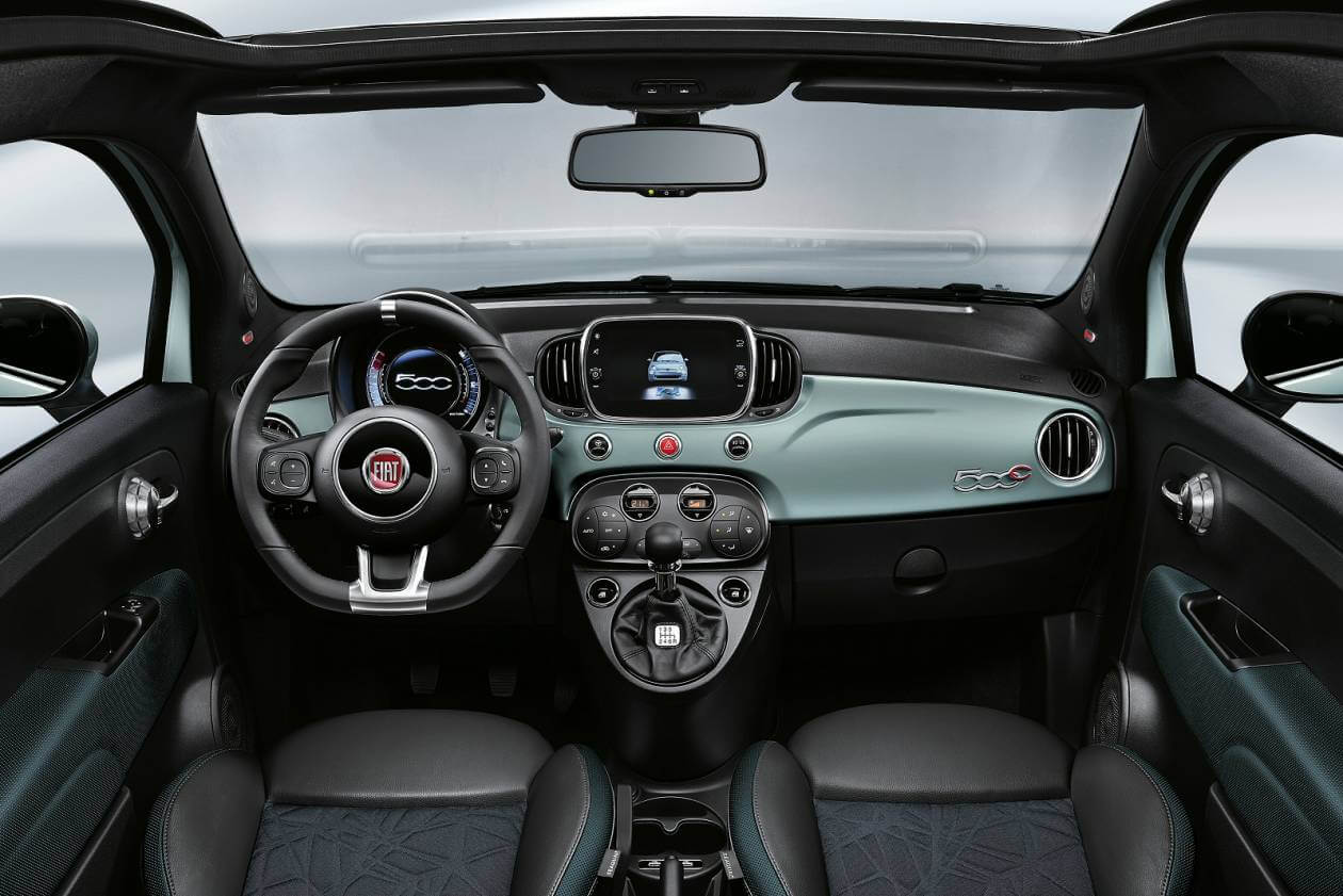 Fiat 500c Convertible 1 2 Lounge 2dr Dualogic On Lease From 193 36 Inc Vat