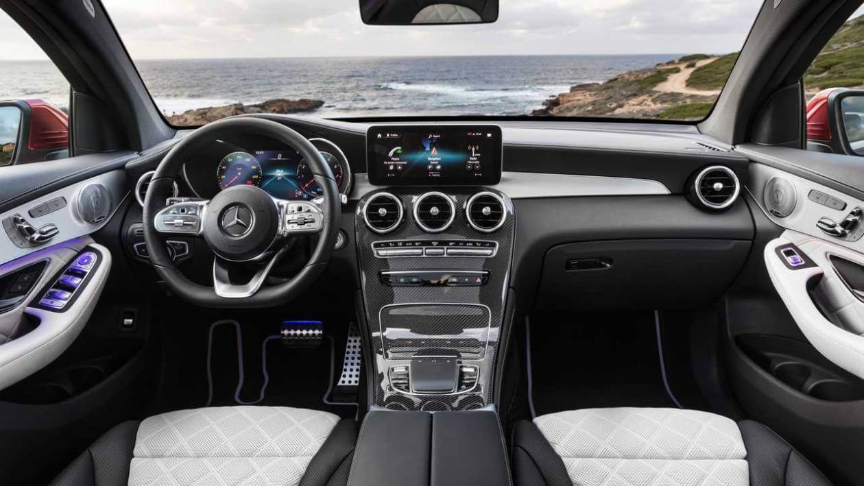 Image 3: Mercedes-Benz GLC Coupe GLC 300 4matic AMG Line 5dr 9G-Tronic