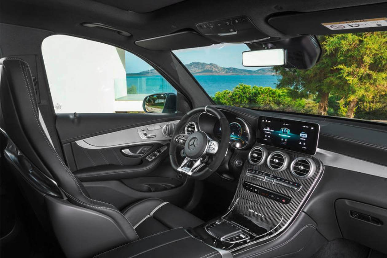 Image 2: Mercedes-Benz GLC Coupe GLC 300 4matic AMG Line 5dr 9G-Tronic