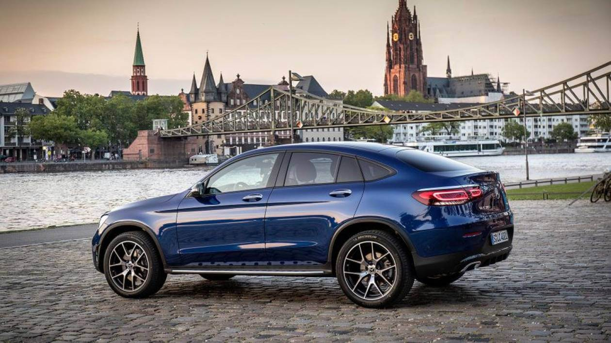 Image 4: Mercedes-Benz GLC Coupe GLC 300 4matic AMG Line 5dr 9G-Tronic