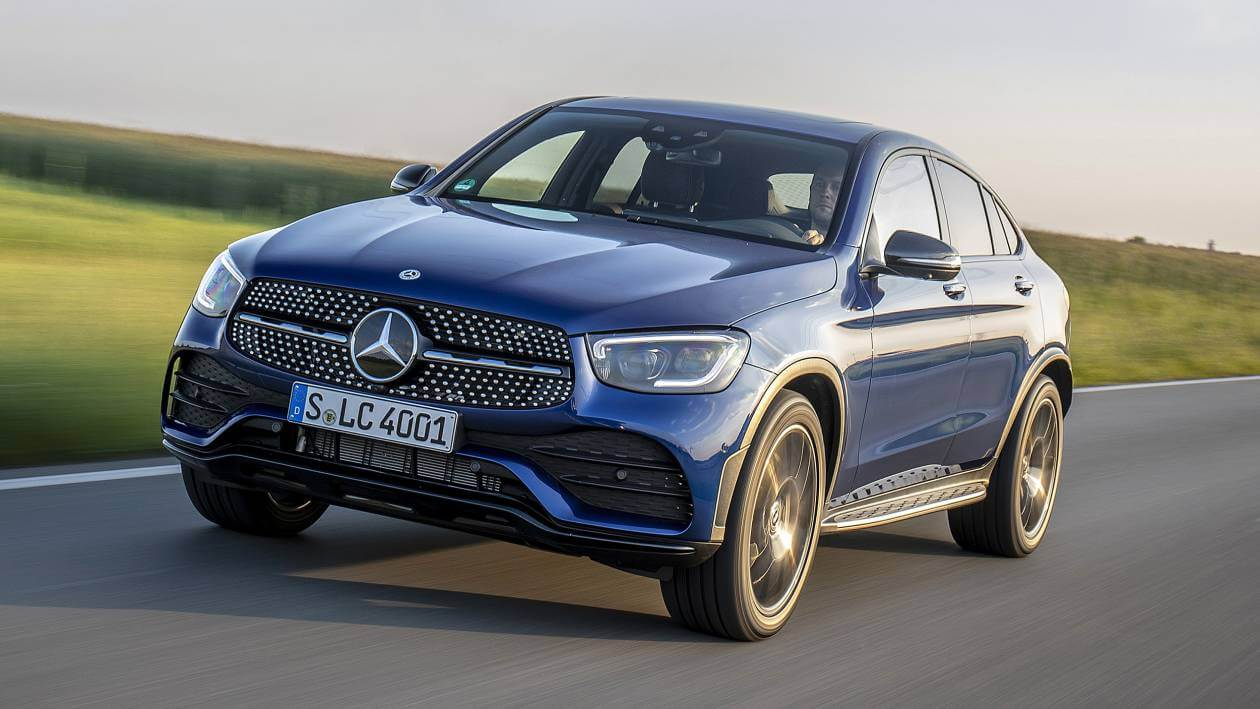Image 1: Mercedes-Benz GLC Coupe GLC 300 4matic AMG Line 5dr 9G-Tronic