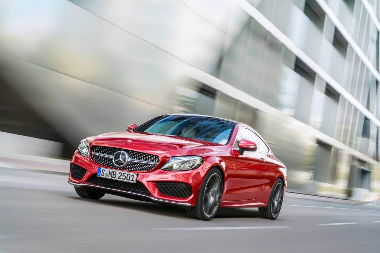 Image 3: Mercedes-Benz C Class Diesel Coupe C220d AMG Line 2dr 9G-Tronic