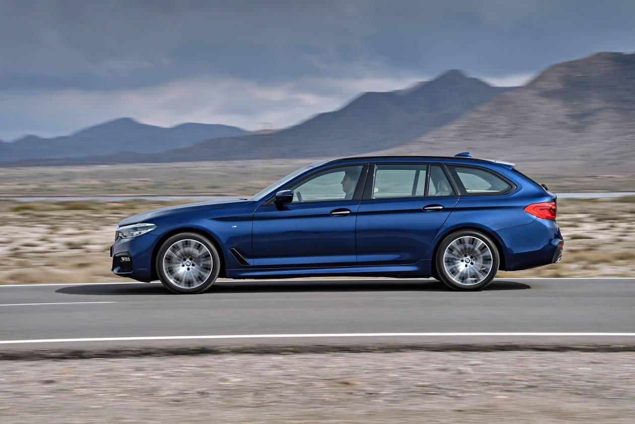 Image 3: BMW 5 Series Diesel Touring 520D M Sport 5dr Auto