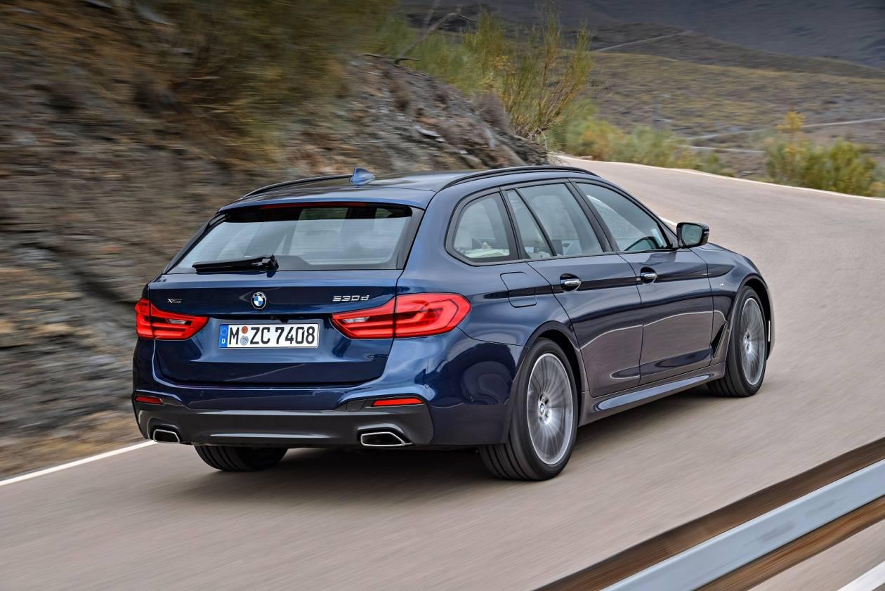 Image 4: BMW 5 Series Diesel Touring 520D M Sport 5dr Auto