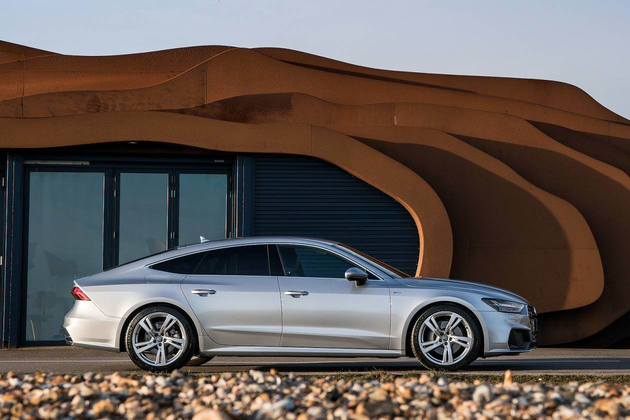 Image 2: Audi A7 Diesel Sportback 40 TDI S Line 5dr S Tronic