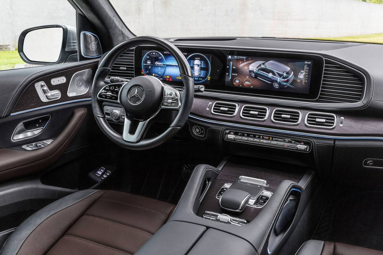 Image 6: Mercedes-Benz GLE Diesel Estate GLE 300D 4matic AMG Line 5dr 9G-Tronic [7 Seat]