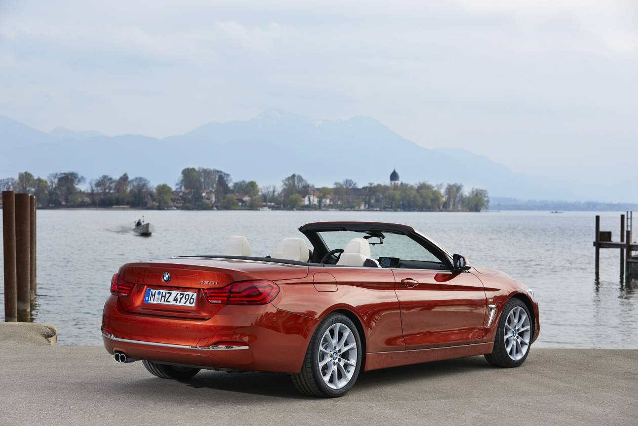 Image 2: BMW 4 Series Convertible 420I M Sport 2dr Auto [professional Media]