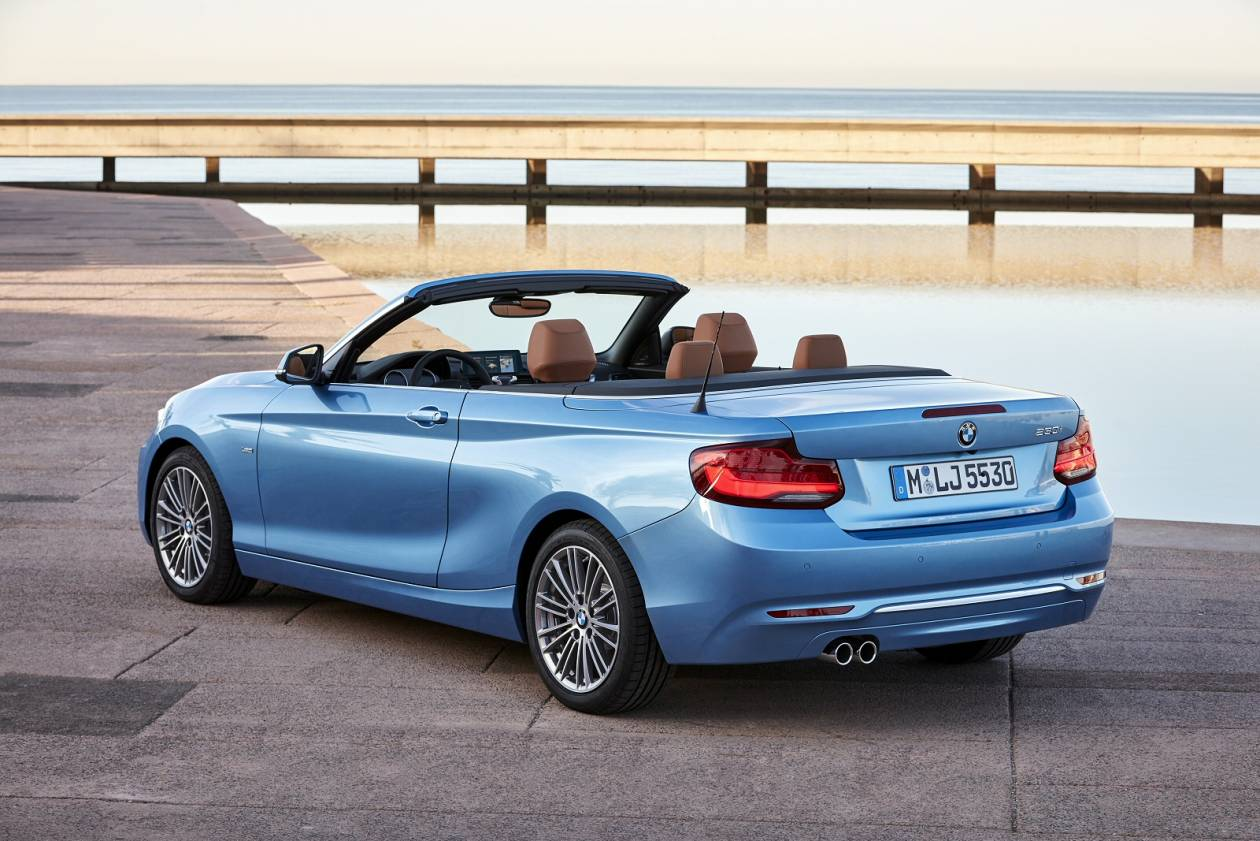 Image 2: BMW 2 Series Convertible 218I M Sport 2dr [NAV] Step Auto