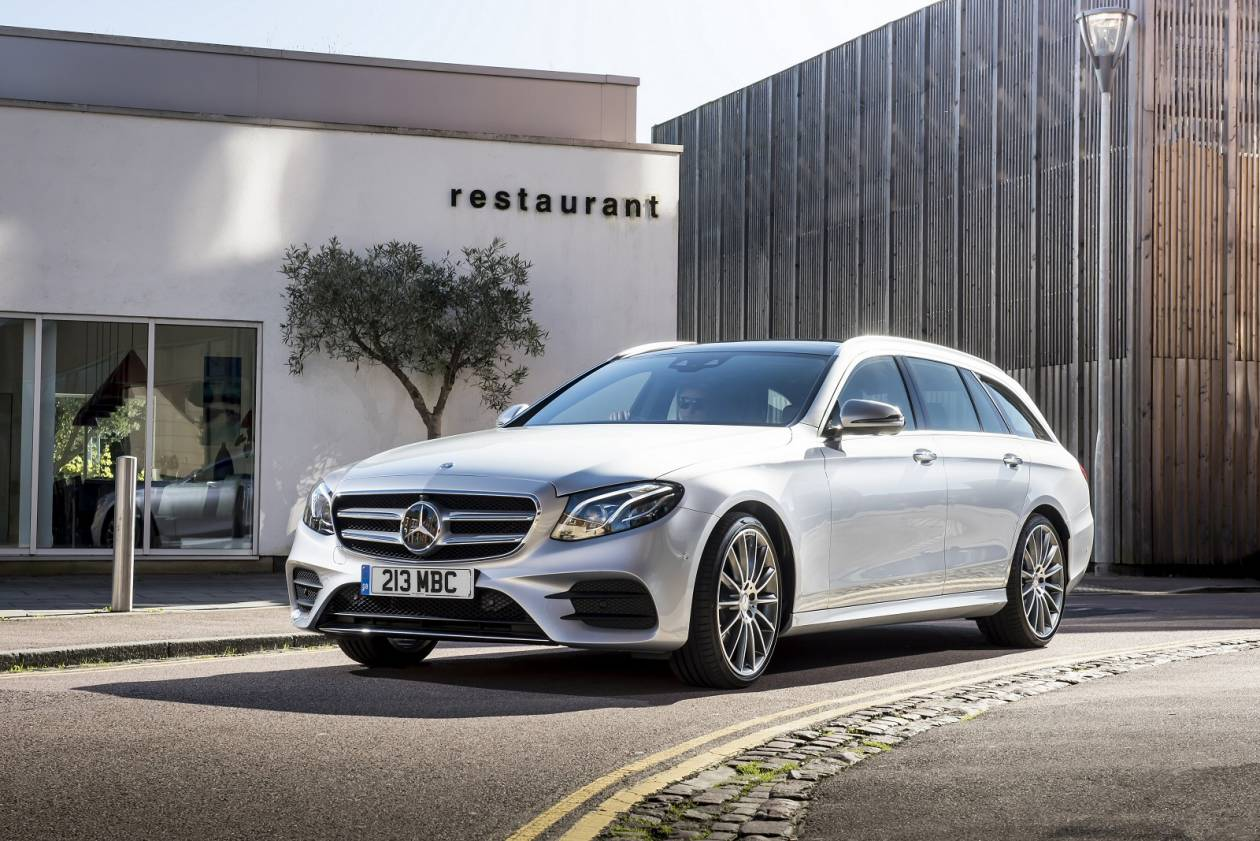 Image 6: Mercedes-Benz E Class Diesel Estate E220d AMG Line Night Edition 5dr 9G-Tronic
